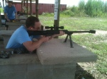 Steve on the Barrett 1